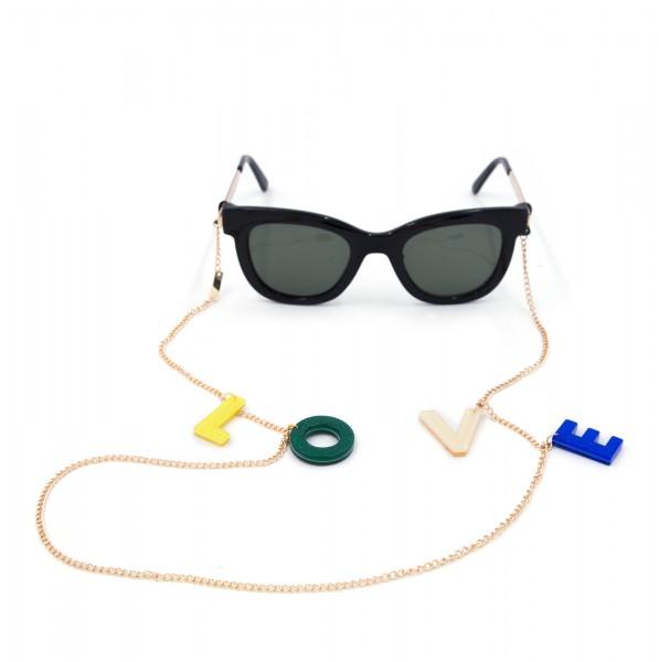 3c69b34e580e Glasses Strap gold plated - Rainbow Love | Bags & Accessories | IPHORIA