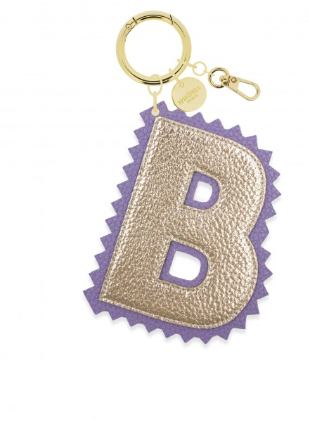 XL Bag Charm Gold Letter B 1