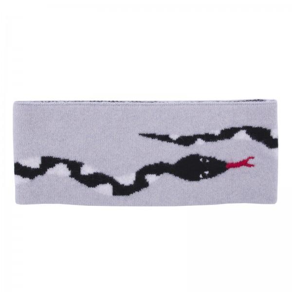 100% Cashmere Headband - Snake  1