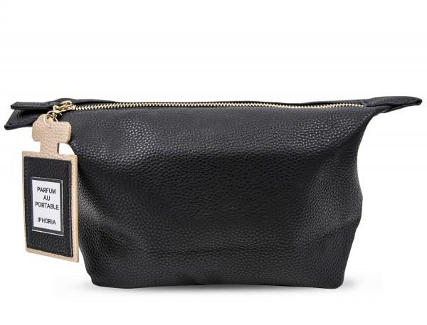 Washbag Black with Perfume Charm 1