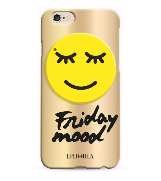 Miroir au Portable Happy Smiley für Apple iPhone 6/ 6S 1