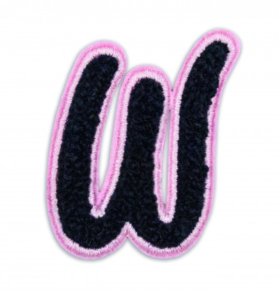Iron On Patch Letter W 1