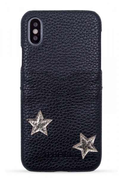 Slot Case for iPhone Xs Max - Black Stars - Stay With Me 1