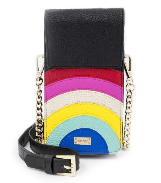 Micro Shoulder Bag Vertical with Bag Holder - Rainbow 1