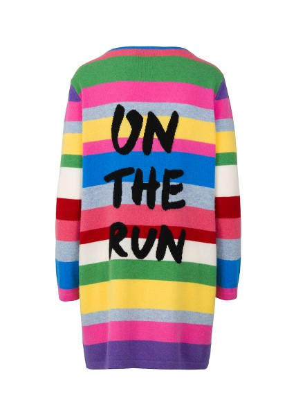 Cashmere Cardigan - Multicolor On The Run - Size 2 1