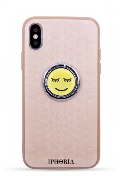 Case for Apple iPhone 7/8 - Ring Happy Beige Snake 1