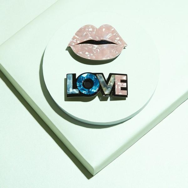 Barette 2er-Set - Lip & Love 1