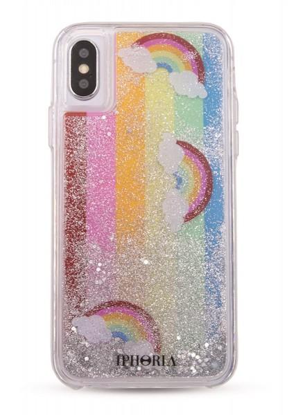 Liquid Case for Apple iPhone X/XS - Rainbows 1