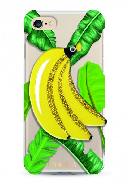 Mirror Case Jungle Bananas for iPhone 7/ 8 1
