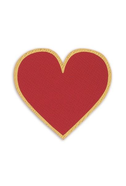 Ledersticker Heart 1