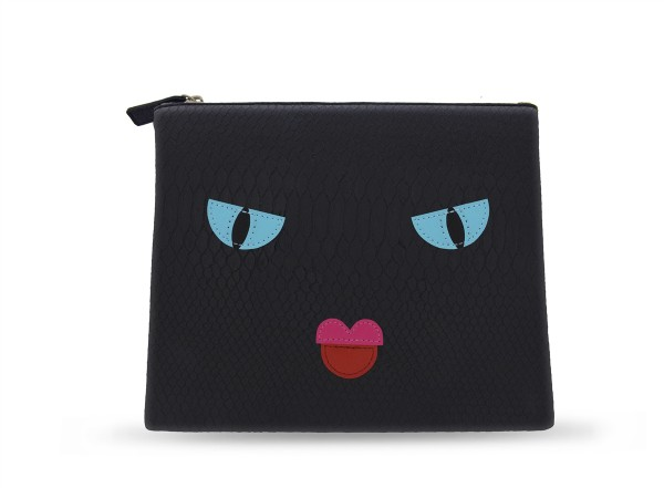Cosmetic Bag Angry Face 1