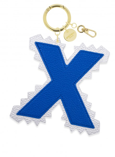 XL Bag Charm Blue Letter X 1