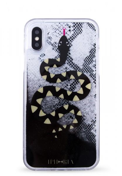 Liquid Case for Apple iPhone 7/8 - Black Snake  1