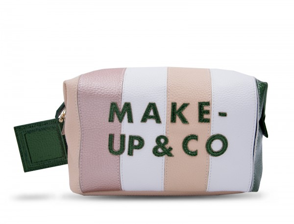 Washbag - Make Up & Co Stripes 1