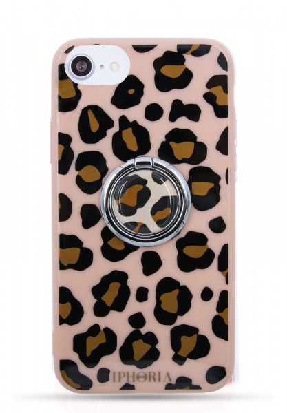 Case for Apple iPhone 7/8 - Ring Happy Leo Print  1