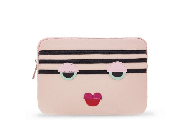 Clutch Power Purse Stripy Face  1