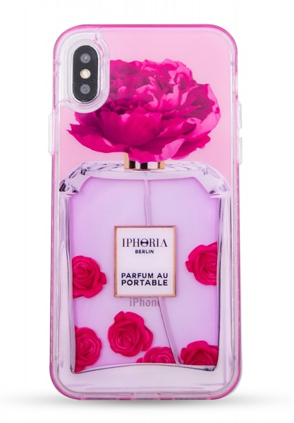 Liquid Case for Apple iPhone X/XS - Parfum Flower Pink 1