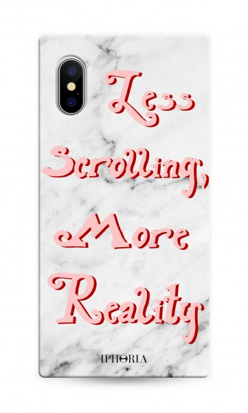 Case for Apple iPhone X/Xs - Hide Away - Less Scrolling More Reality 1
