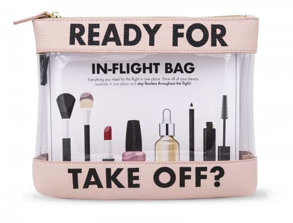Inflight Bag - Ready for take off Rose 1