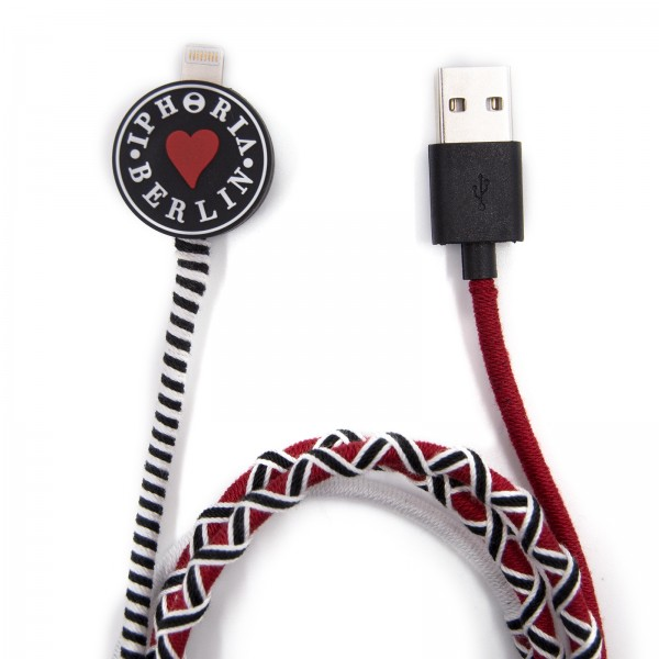 Charging Cable for Apple iPhone - Iphoria Berlin Multicolor 1
