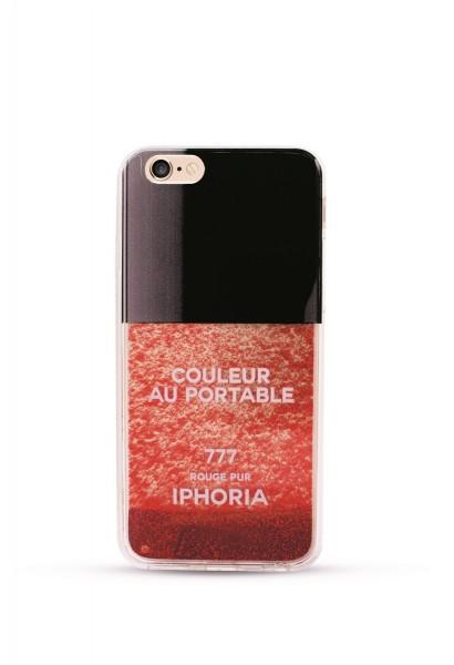 liquid case for apple iphone 7 vernis rouge cases iphoria. Black Bedroom Furniture Sets. Home Design Ideas