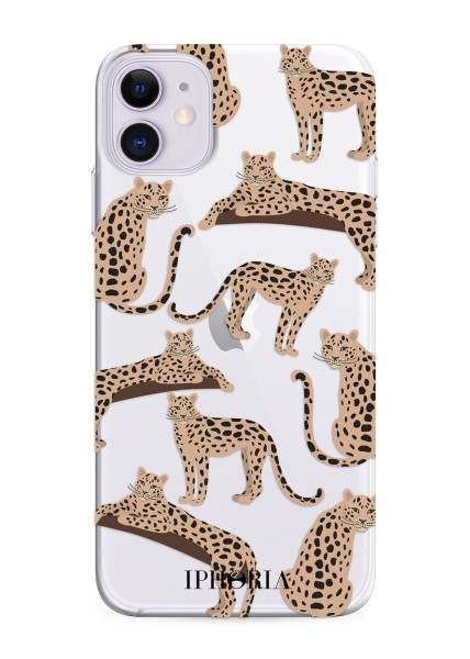 Artikelbild 1 des Artikels Classic Case - Transparent Leopard Mosaic iPhone 1