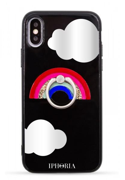 Case for Apple iPhone X/Xs - Ring Happy Rainbow 1