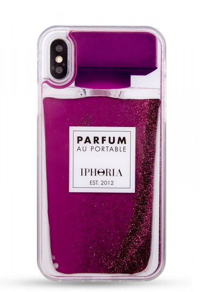 Liquid Case for Apple iPhone X/XS - Perfume Purple 1