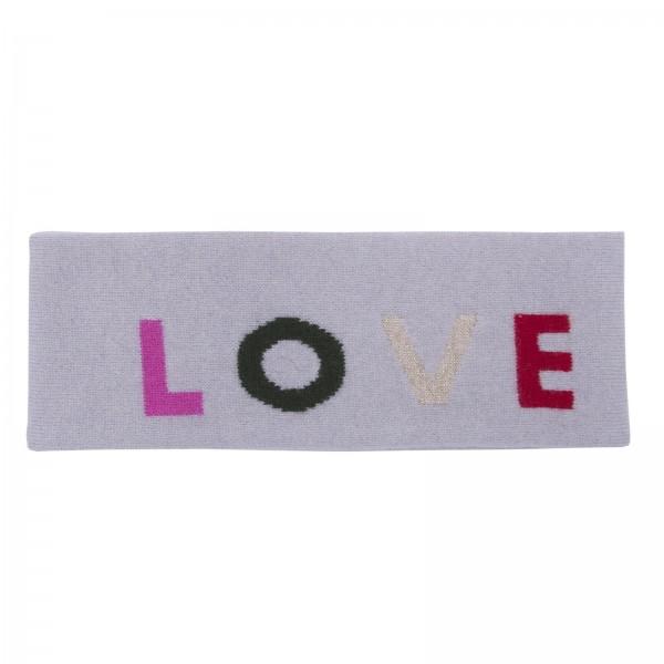 100% Cashmere Headband - LOVE 1