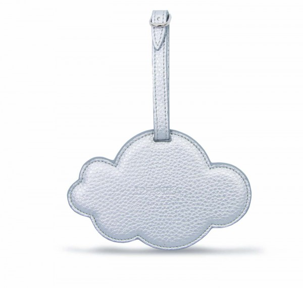 Luggage Tag - Cloud Silver 1