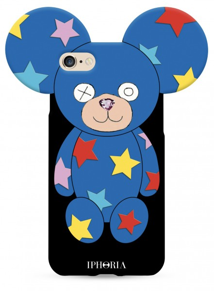 Teddy Multicoloured Stars for iPhone 7/8 1