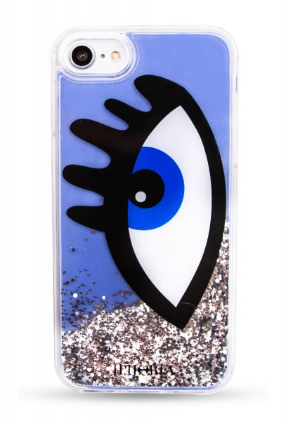Liquid Case for Apple iPhone 7/8 - Blue Eye 1