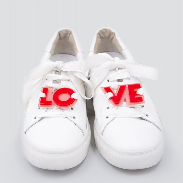 Acryl Sneaker Patches - Love 1