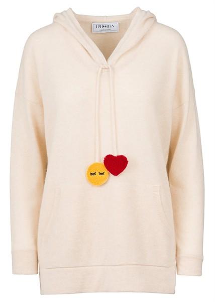 Hoody  Heart & Smiley. Größe 1 1
