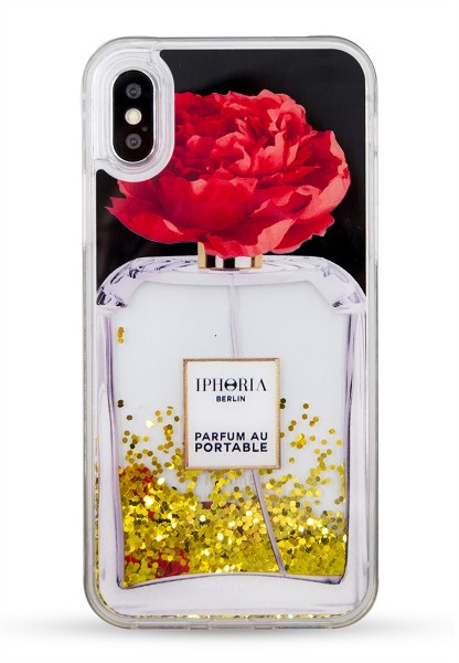 Liquid Case for Apple iPhone X/XS - Parfum Flower Red 1