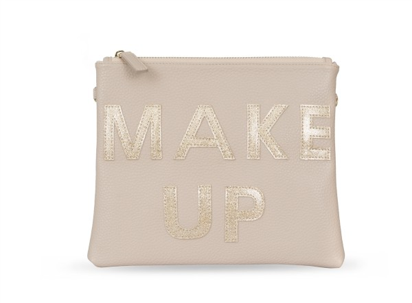 Cosmetic Bag Gold Make Up 1