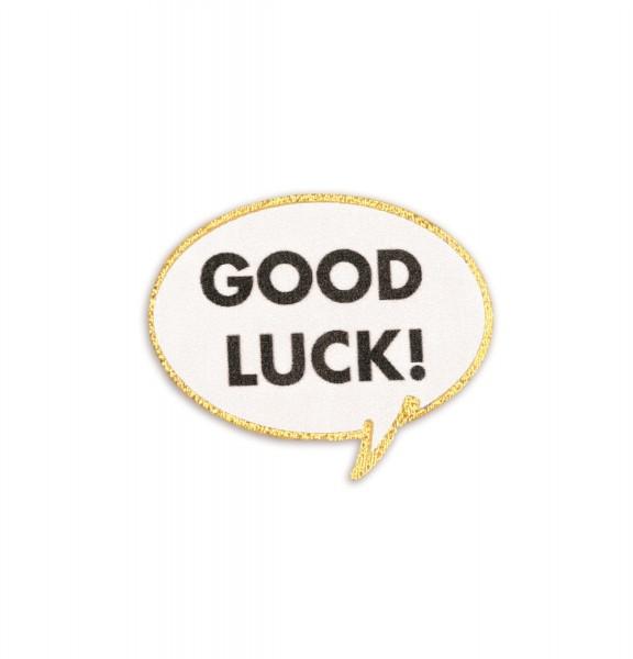 Ledersticker Good Luck 1