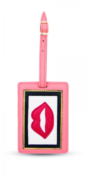 Luggage Tag - Lips Colorblocking 1