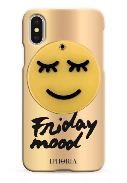 Case with Mirror for Apple iPhone X - Friday Mood 1