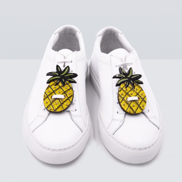 Acryl Sneaker Patches - Pineapple 1