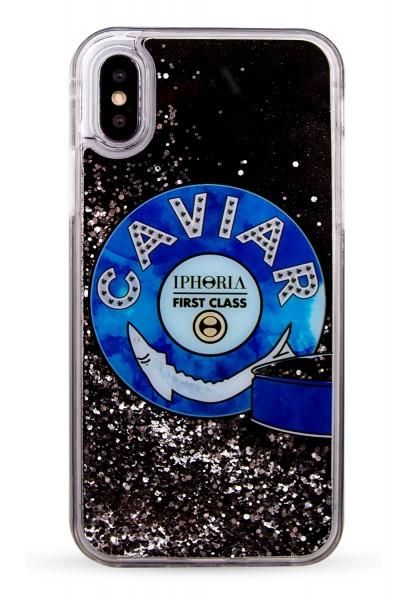 Liquid Case for Apple iPhone X/XS - Black Caviar 1