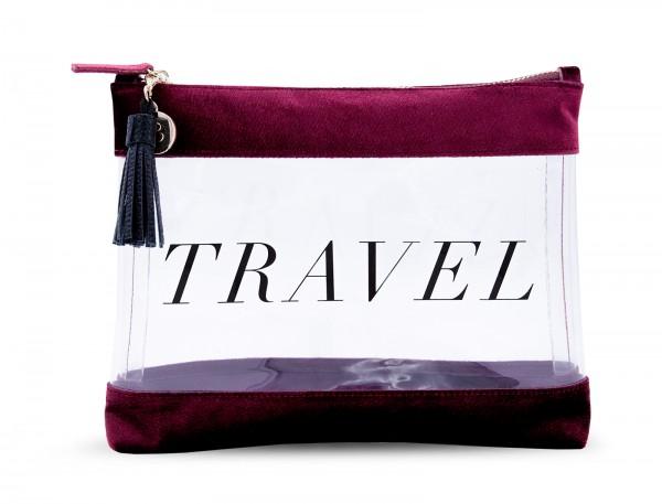 Inflight Bag - Dark Red TRAVEL 1