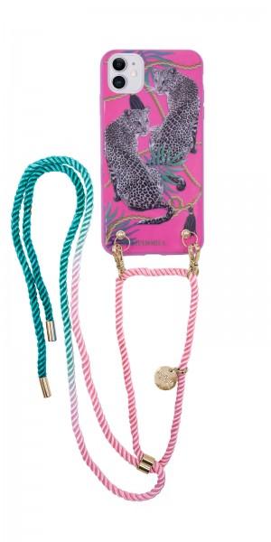 Artikelbild 1 des Artikels Necklace Case for Apple iPhone 11 - Pink Leopard