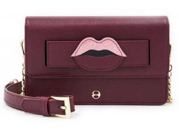 Micro Shoulder / Belt Bag - Mouth Red 1