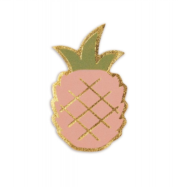 Ledersticker Pineapple 1