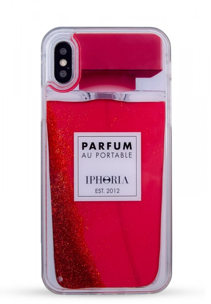 Liquid Case for Apple iPhone X/XS - Perfume Red 1