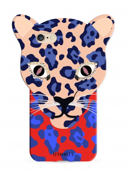 Leo Case Blue Leopard for iPhone 7/ 8 1