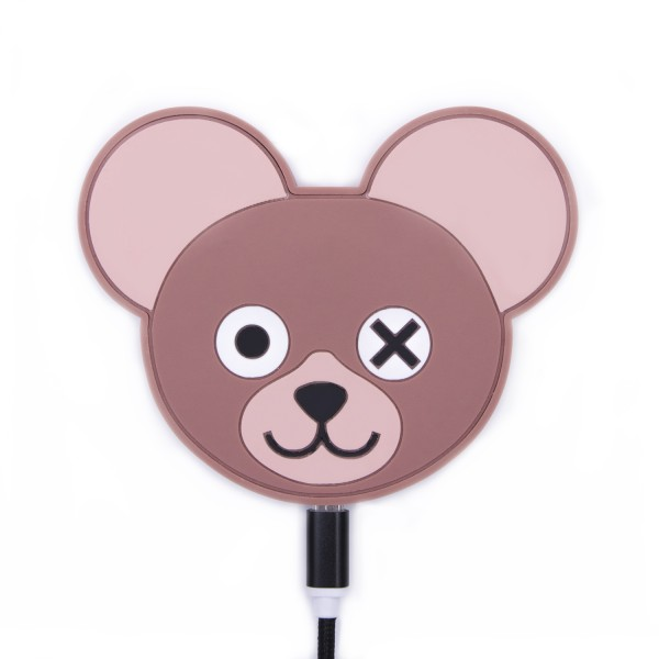 QI Wireless Charger -  Nude Teddy Is Power 1