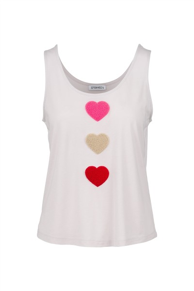 IPHORIA READY TO WEAR COLLECTION Top Hearts. Größe 2 1