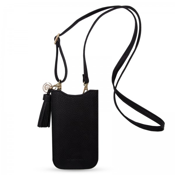 Necklace Sleeve Case for Apple iPhone 6+/7+/8+/Xs Max - Black 1